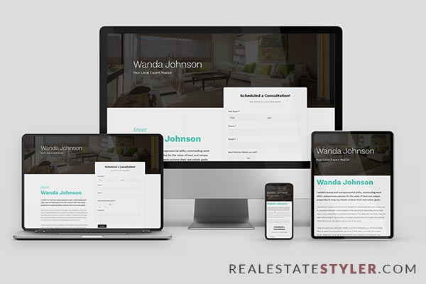 "Lyra - Best Real Estate ""Agent Website"" Demo by RealEstateStyler.com"