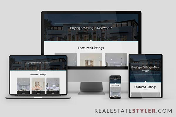 "Ultra - Best Real Estate ""Agent Website"" Demo by RealEstateStyler.com"