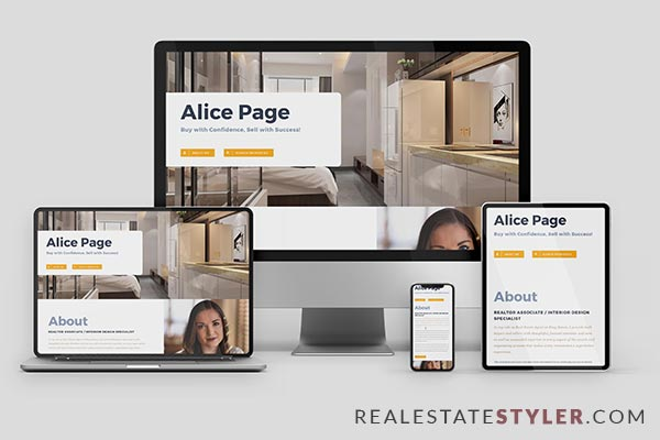 "Mega - Best Real Estate ""Agent Website"" Demo by RealEstateStyler.com"