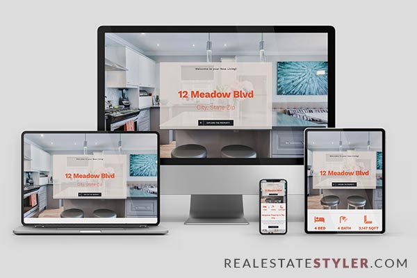 """Meadow View - Best Real Estate """"Single Property Site"""" Demo by RealEstateStyler.com"""