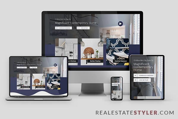 """The Willows - Best Real Estate """"Single Property Site"""" Demo by RealEstateStyler.com"""