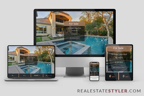 """The Ocean View - Best Real Estate """"Single Property Site"""" Demo by RealEstateStyler.com"""